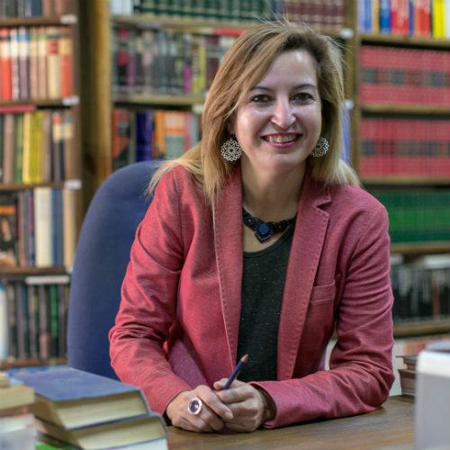 Carmen Lizárraga, candidata de Más País por Málaga.